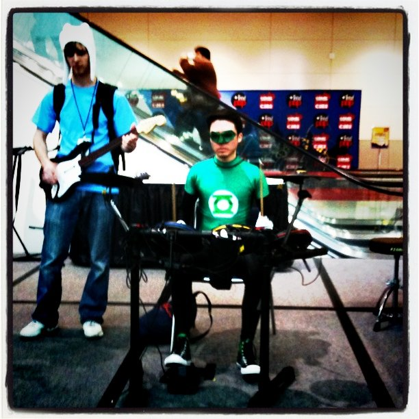 C2E2 2011 Webcomics Roundtable - Green Lantern Rockband