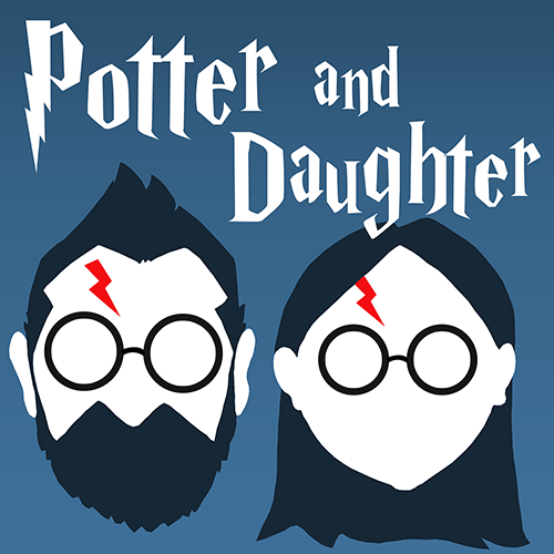 Potter & Daughter - A Harry Potter Podcast by cartoonist Joel Watson and his 6 year old daughter, Lily
